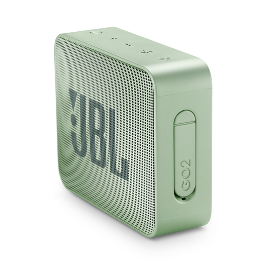 JBL GO 2 - Seafoam Mint - Portable Bluetooth speaker - Detailshot 2