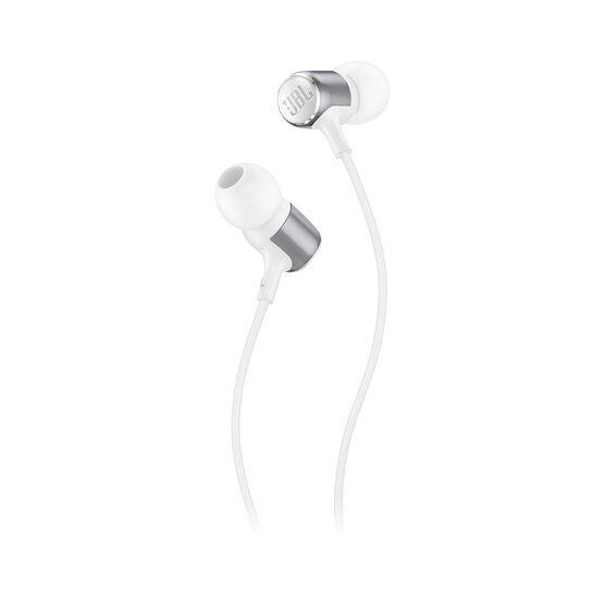 JBL LIVE 100 - White - In-ear headphones - Detailshot 1