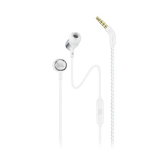 JBL LIVE 100 - White - In-ear headphones - Hero