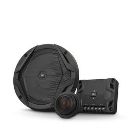 "GX600C - Black - 6-1/2"" car audio component speaker system, 210W - Hero"