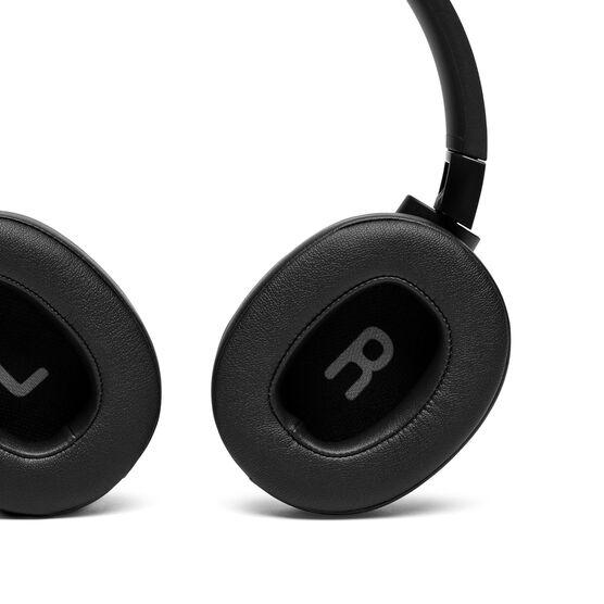 JBL TUNE 750BTNC - Black - Wireless Over-Ear ANC Headphones - Detailshot 4