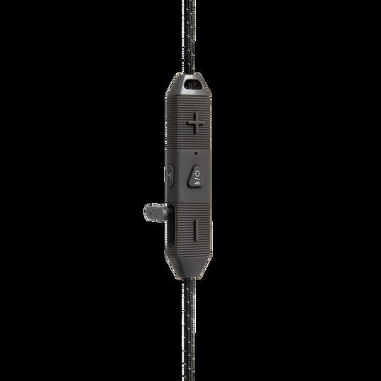UA Sport Wireless REACT - Black - Secure-fitting wireless sport earphones with JBL technology and sound - Detailshot 3