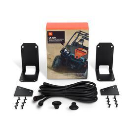 JBL SK300 Separation Kit - Black - 9.8'(3m) Bridge Umbilical with finishing plates - Hero