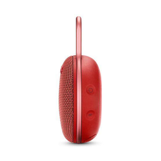 JBL CLIP 3 - Fiesta Red - Portable Bluetooth® speaker - Detailshot 2