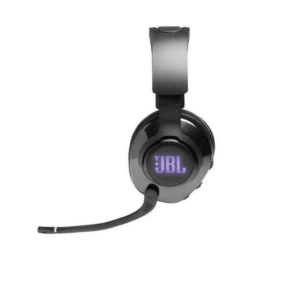JBL Quantum 400 - Black - USB over-ear gaming headset with game-chat dial - Detailshot 5