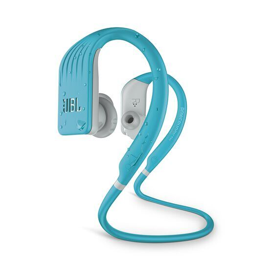 JBL Endurance JUMP - Teal - Waterproof Wireless Sport In-Ear Headphones - Hero