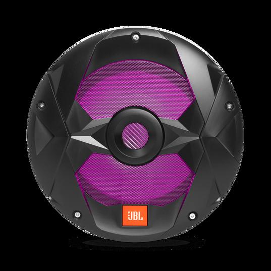 "Club Marine MS10LB - Black Matte - Club Marine MS10LB—10"" (250mm) marine audio multi-element subwoofer with RGB lighting – Black - Detailshot 2"