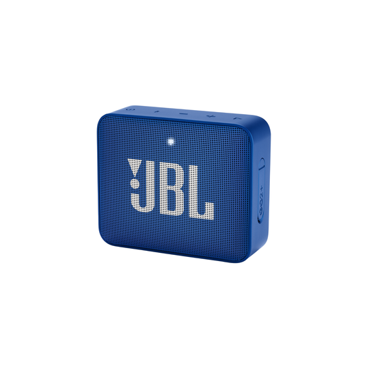 JBL GO2+ - Blue - Portable Bluetooth speaker - Hero