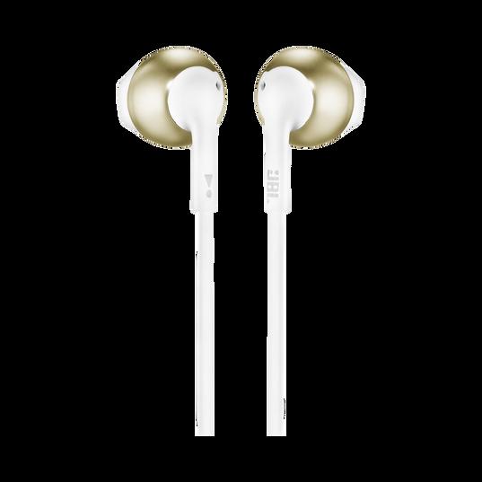 JBL TUNE 205 - Champagne Gold - Earbud headphones - Back