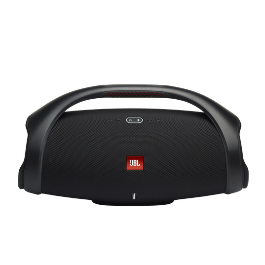 JBL Boombox 2 - Black - Portable Bluetooth Speaker - Front