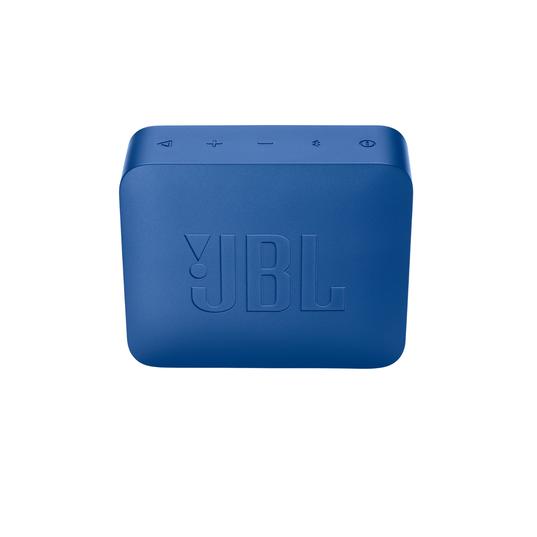 JBL GO2+ - Blue - Portable Bluetooth speaker - Back
