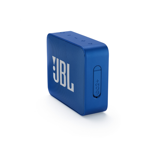 JBL GO2+ - Blue - Portable Bluetooth speaker - Detailshot 3