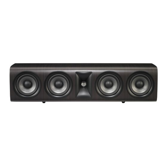 JBL STUDIO 665C - Dark Wood - Home Audio Loudspeaker System - Front