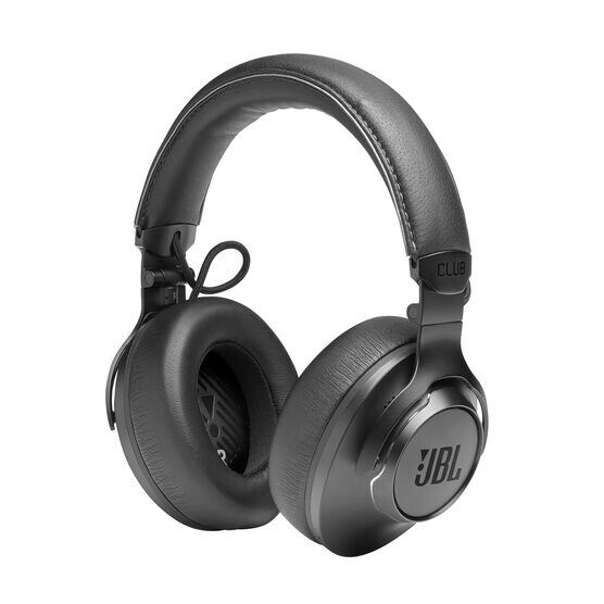 JBL CLUB ONE - Black - Wireless, over-ear, True Adaptive Noise Cancelling headphones inspired by pro musicians - Detailshot 5