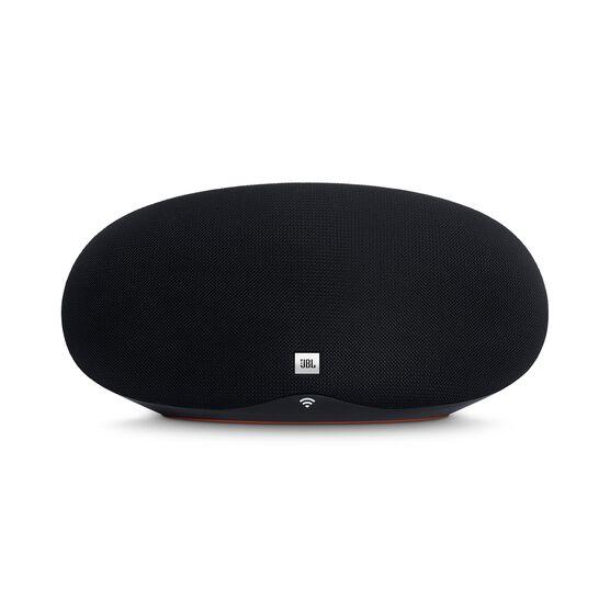 JBL Playlist - Black - Wireless speaker with Chromecast built-in - Front