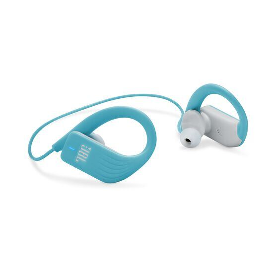 JBL Endurance SPRINT - Teal - Waterproof Wireless In-Ear Sport Headphones - Detailshot 1