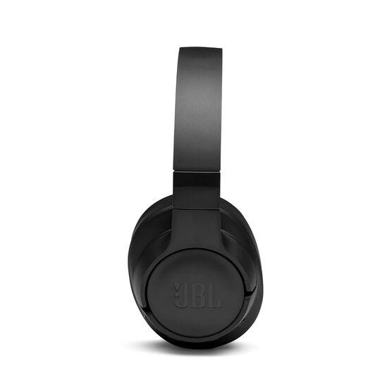 JBL TUNE 750BTNC - Black - Wireless Over-Ear ANC Headphones - Left