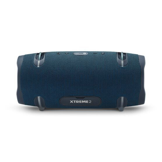 JBL Xtreme 2 - Ocean Blue - Portable Bluetooth Speaker - Back
