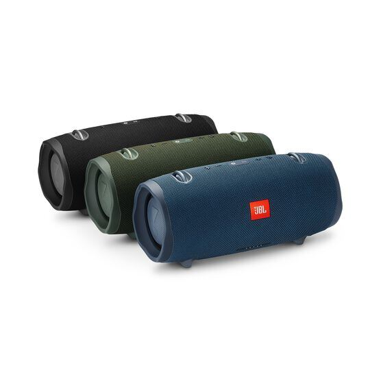 JBL Xtreme 2 - Ocean Blue - Portable Bluetooth Speaker - Detailshot 3