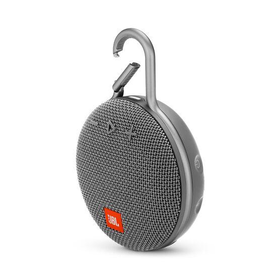 JBL CLIP 3 - Stone Grey - Portable Bluetooth® speaker - Hero