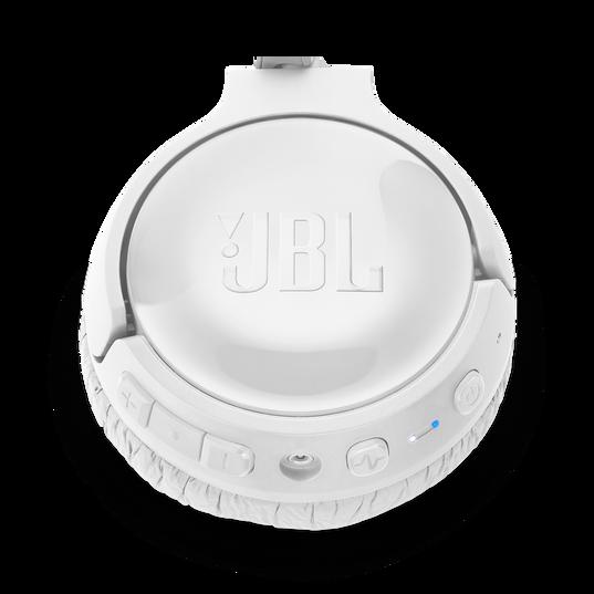 JBL TUNE 600BTNC - White - Wireless, on-ear, active noise-cancelling headphones. - Detailshot 3