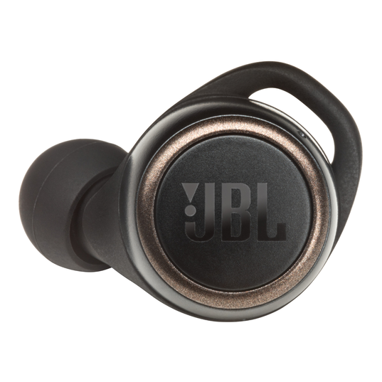 JBL LIVE 300TWS - Black - True wireless in-ear headphones with Smart Ambient - Detailshot 1