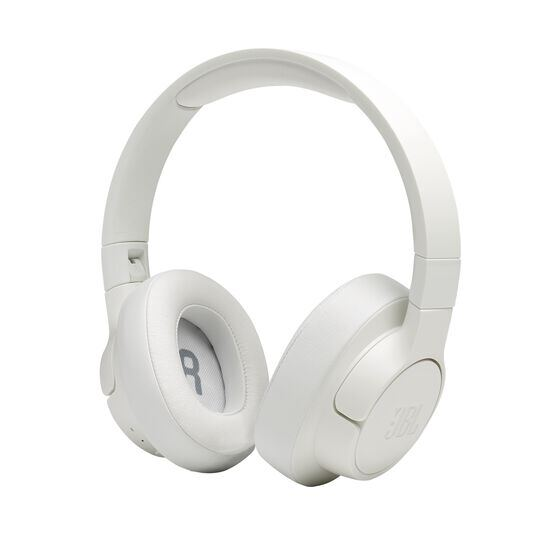JBL TUNE 700BT - White - Wireless Over-Ear Headphones - Detailshot 5