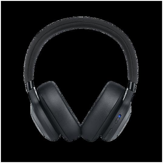 JBL E65BTNC - Black Matte - Wireless over-ear noise-cancelling headphones - Front