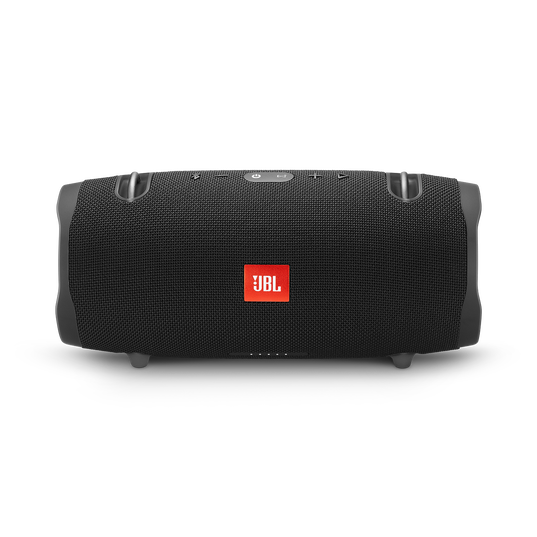 JBL Xtreme 2 - Midnight Black - Portable Bluetooth Speaker - Front
