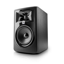 "JBL 305P MkII - Black - Powered 5"" (10.16 cm) Two-Way Studio Monitor - Hero"