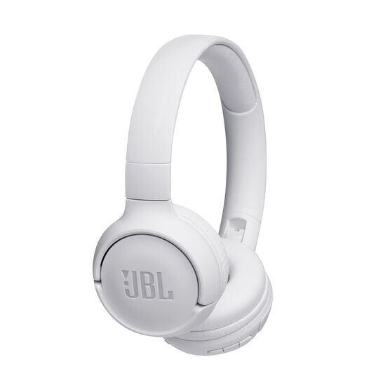 JBL TUNE 500BT - White - Wireless on-ear headphones - Hero