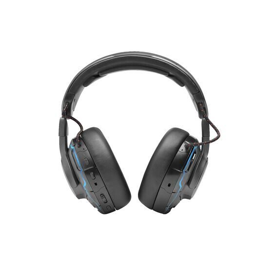 JBL Quantum ONE - Black - USB wired over-ear professional gaming headset with head-tracking enhanced JBL QuantumSPHERE 360 - Back