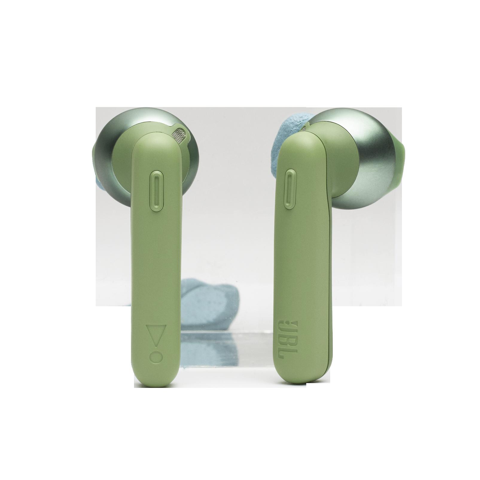 JBL TUNE 220TWS - Green - True wireless earbuds - Detailshot 1