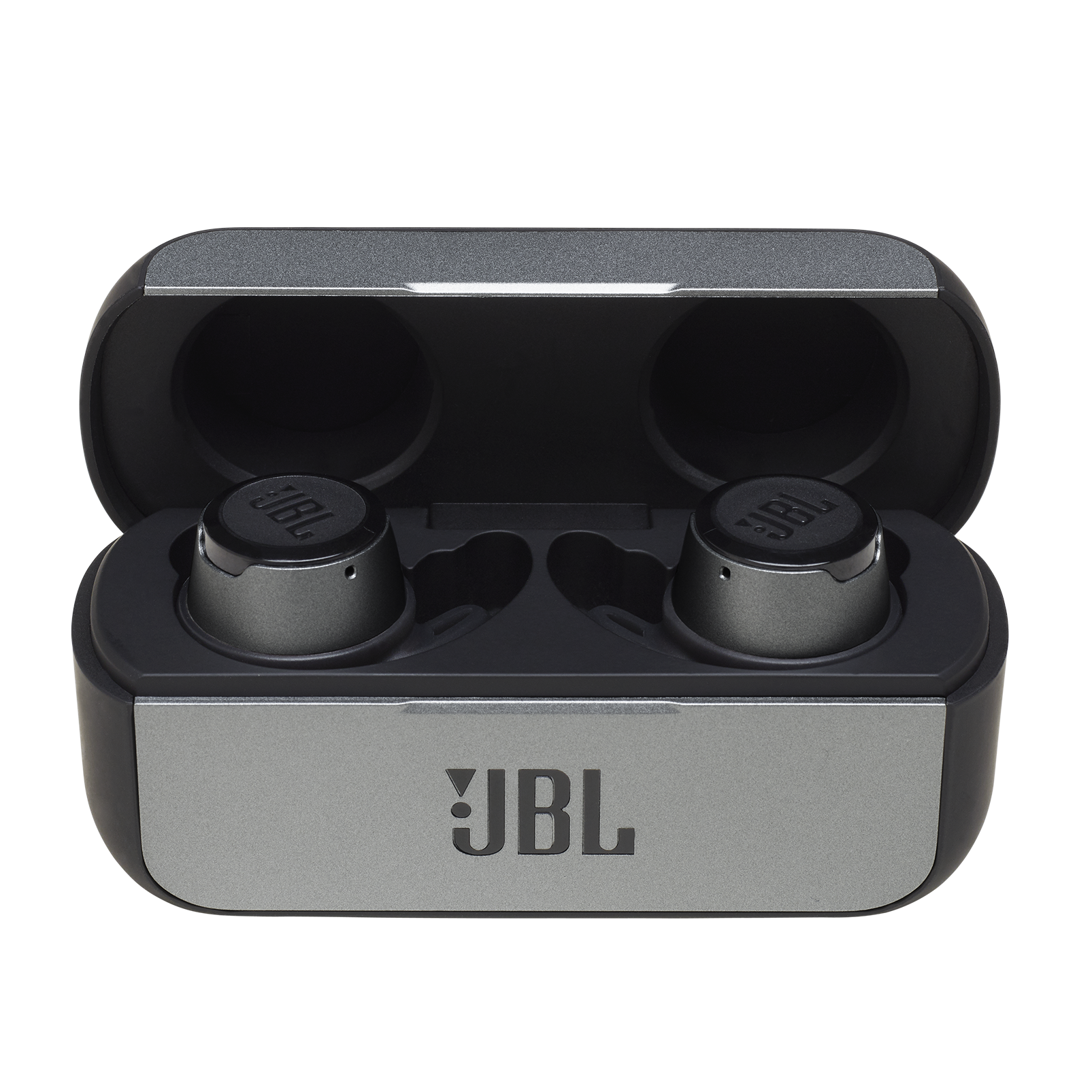 JBL REFLECT FLOW - Black - True wireless sport headphones. - Detailshot 3
