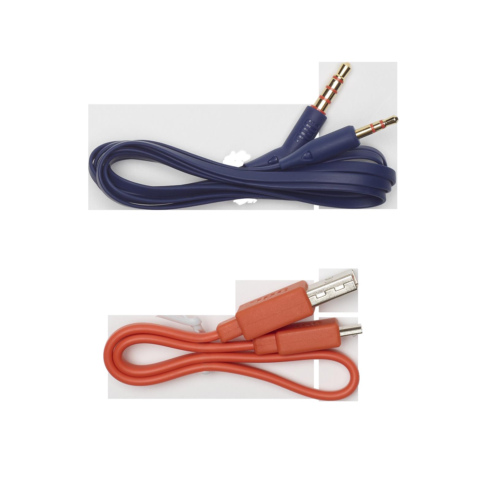 JBL TUNE 700BT - Blue - Wireless Over-Ear Headphones - Detailshot 7