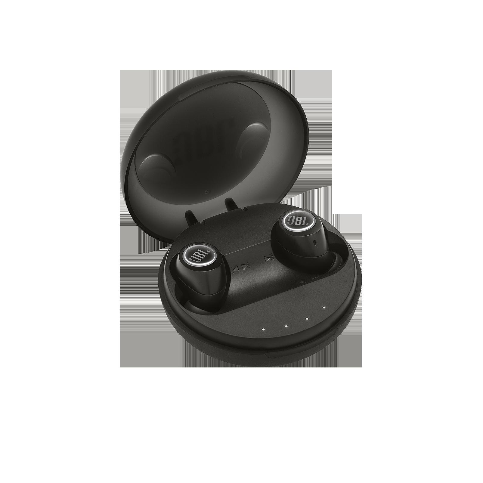 JBL Free - Black - Truly wireless in-ear headphones - Hero