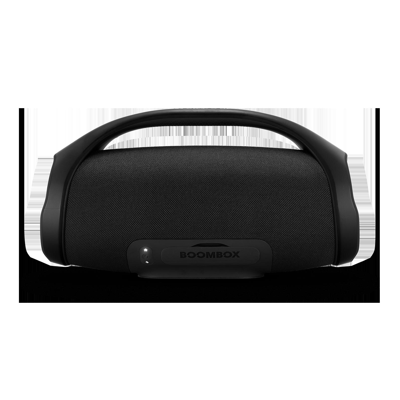 JBL Boombox - Black - Portable Bluetooth Speaker - Back