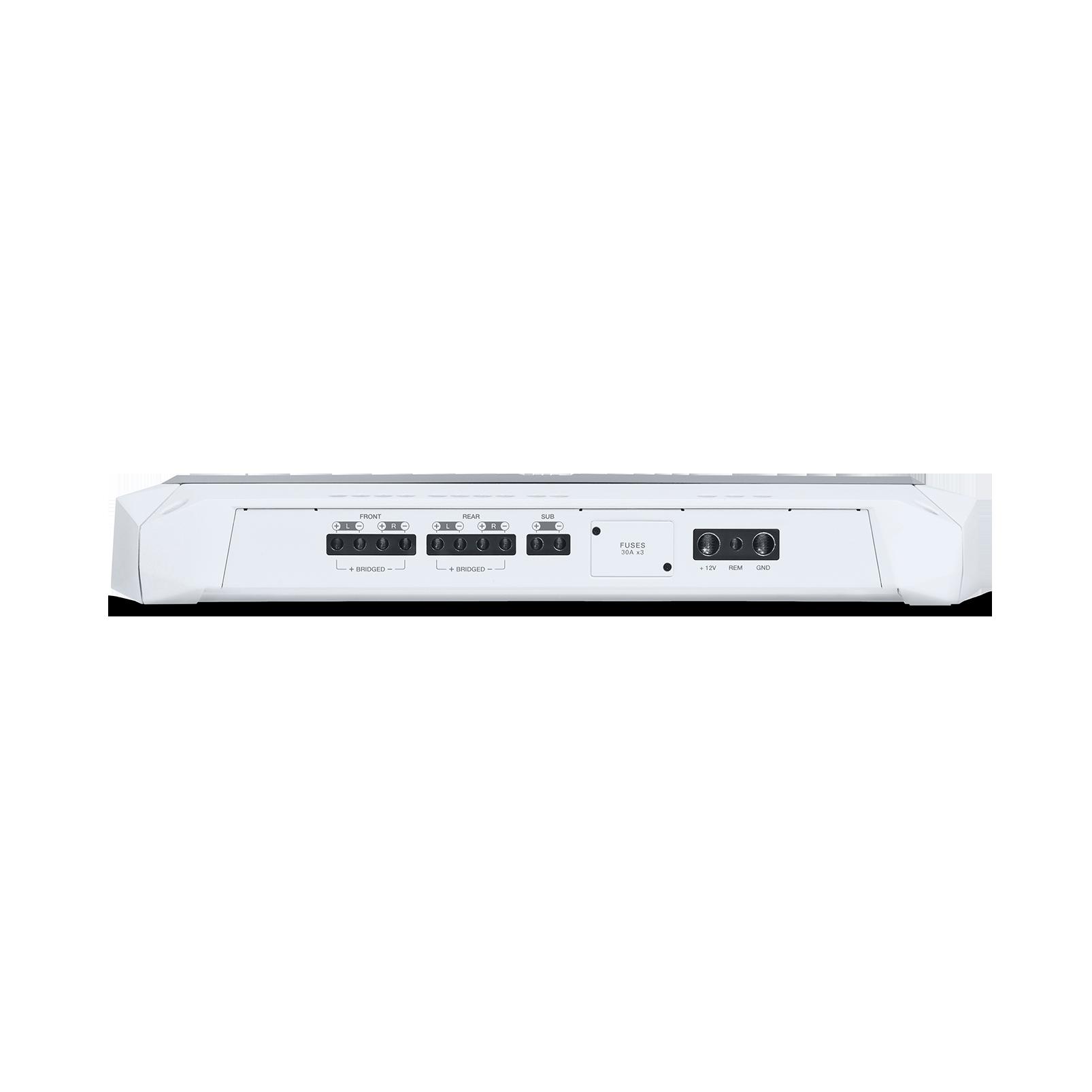 JBL Marine MA4505 - White Matte - Multi-element high-performance, 5-channel amplifier - Detailshot 1