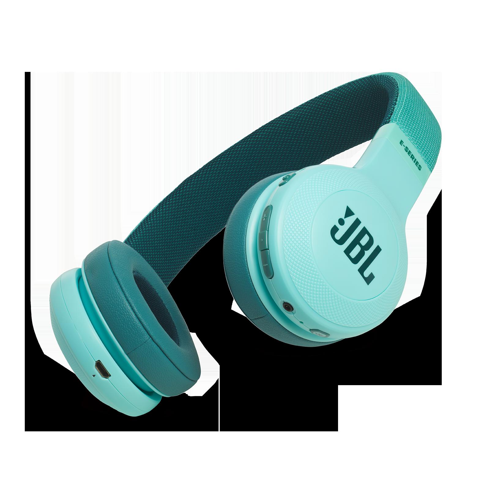 JBL E45BT - Teal - Wireless on-ear headphones - Hero