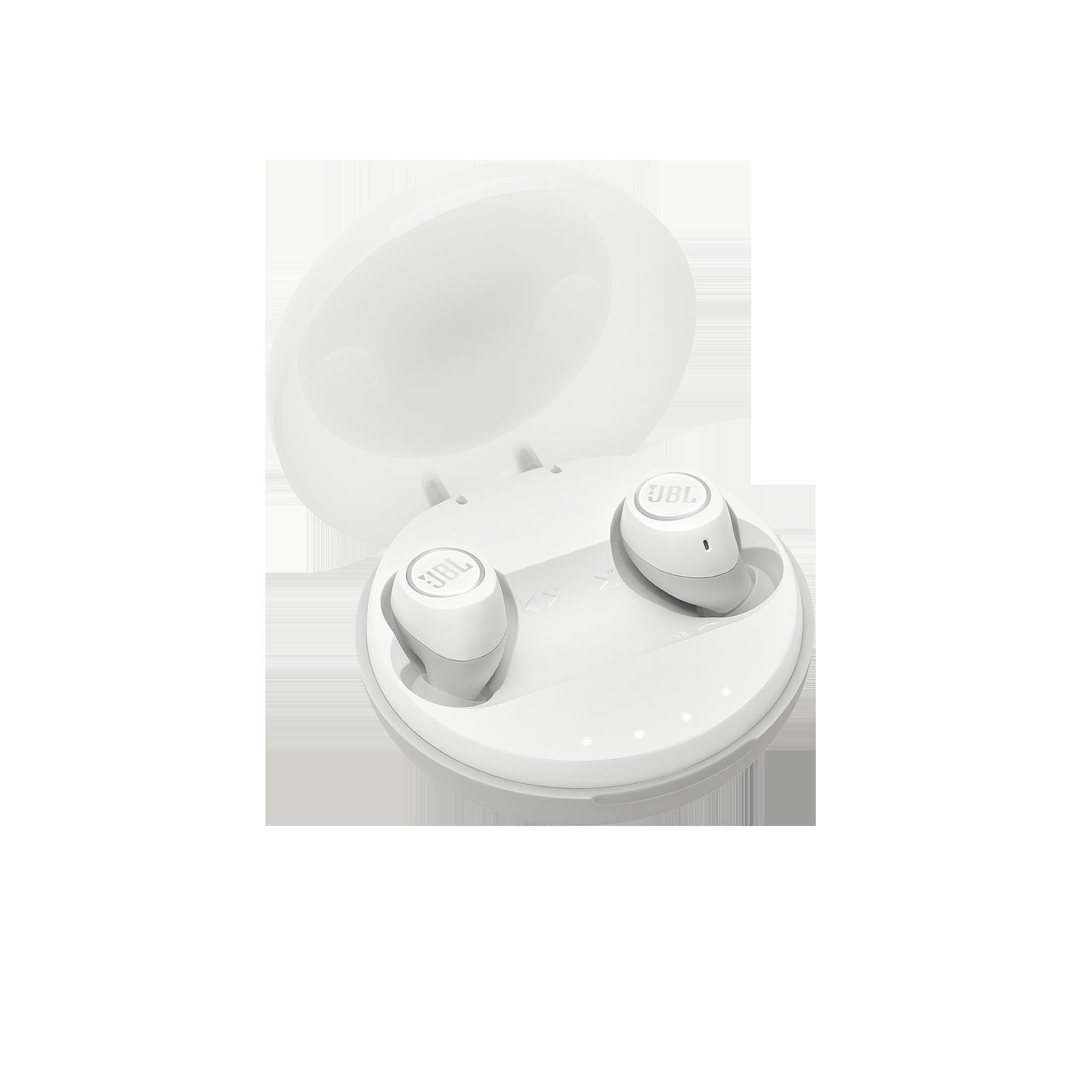 JBL Free X - White - Truly wireless in-ear headphones - Hero