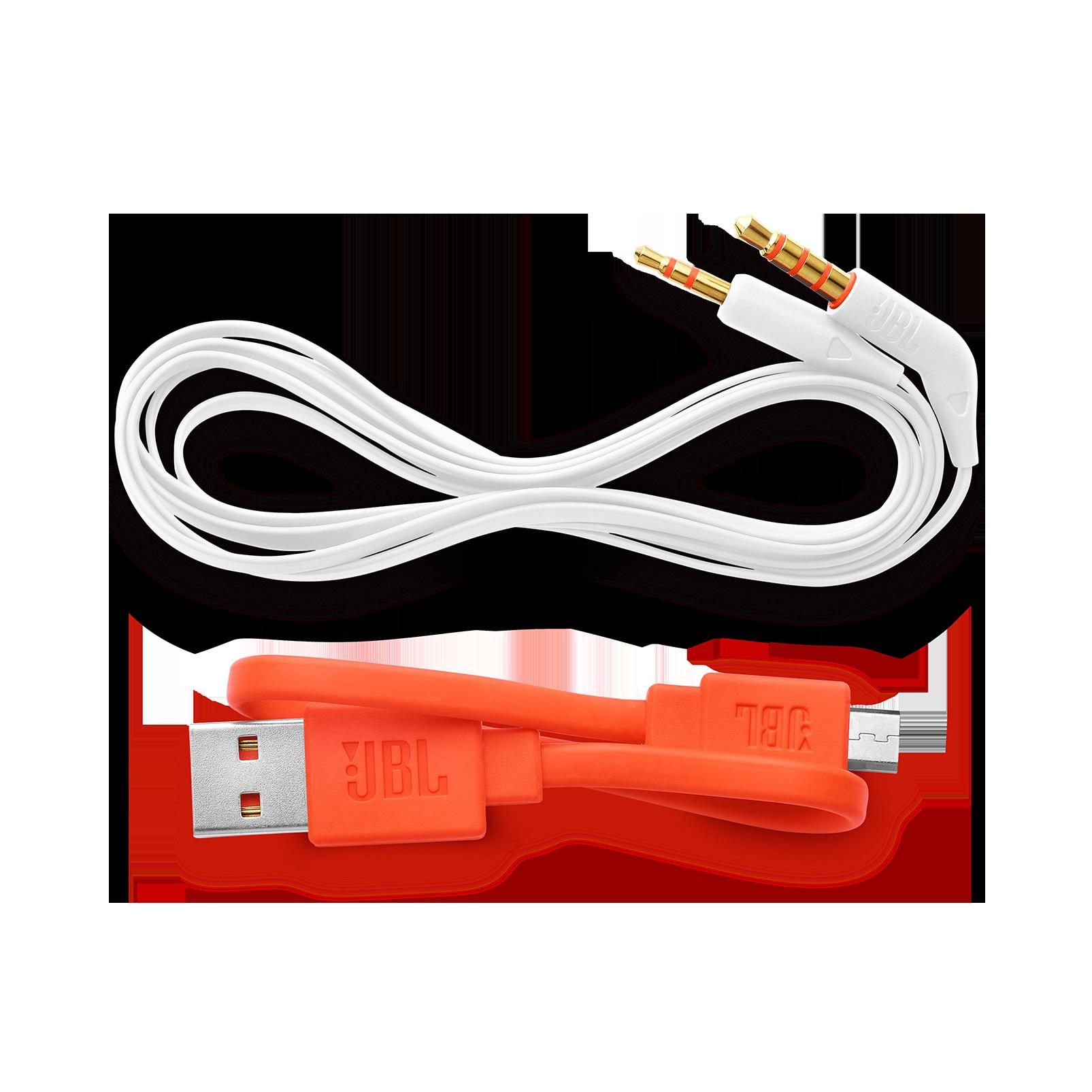 JBL TUNE 600BTNC - White - Wireless, on-ear, active noise-cancelling headphones. - Detailshot 5