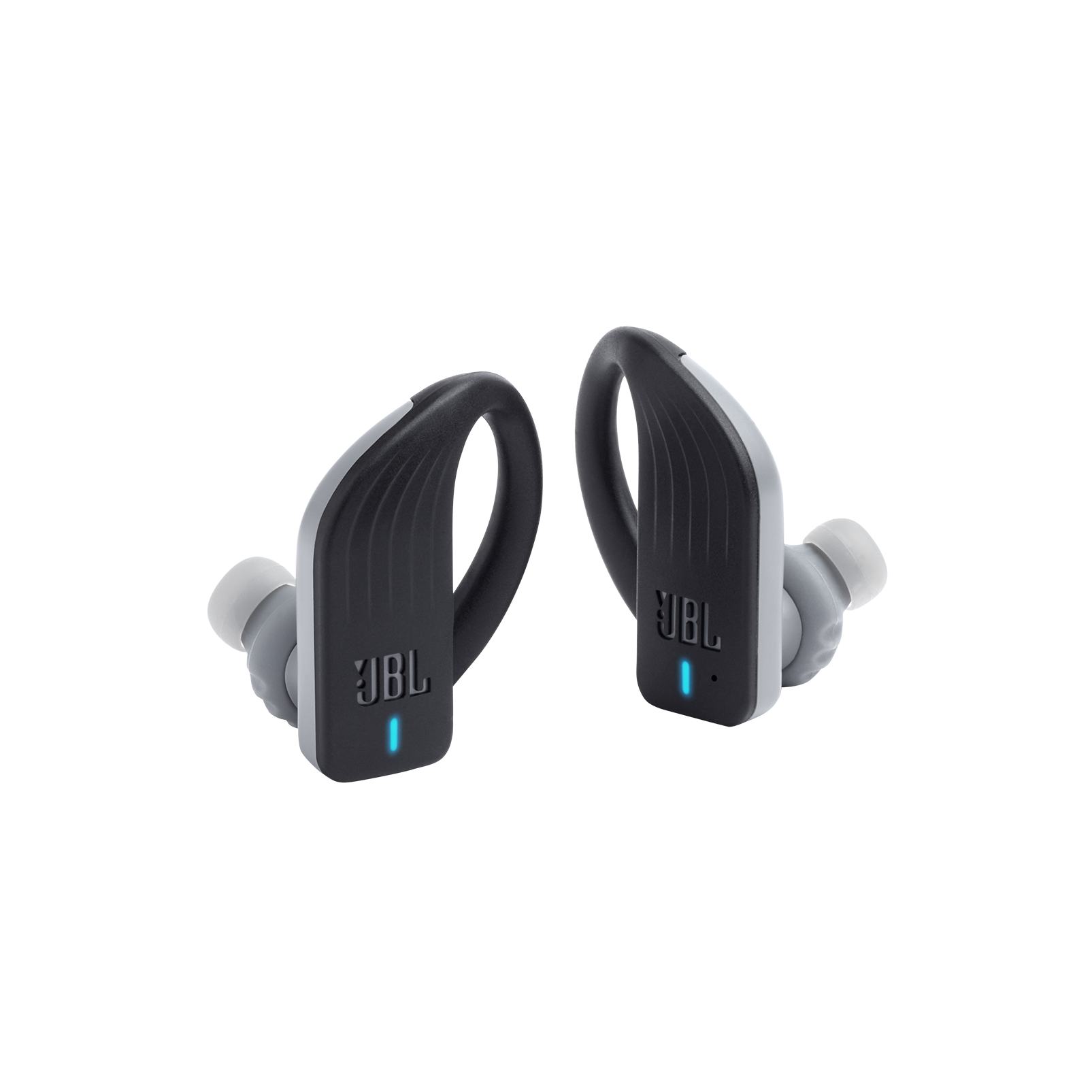 JBL Endurance PEAK - Black - Waterproof True Wireless In-Ear Sport Headphones - Hero