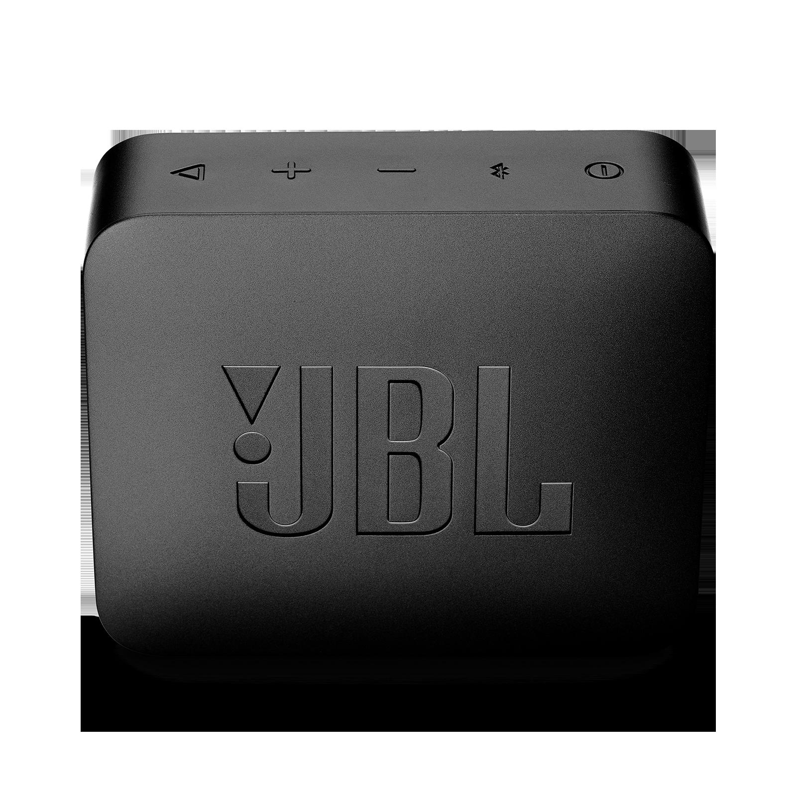JBL GO 2 - Midnight Black - Portable Bluetooth speaker - Back