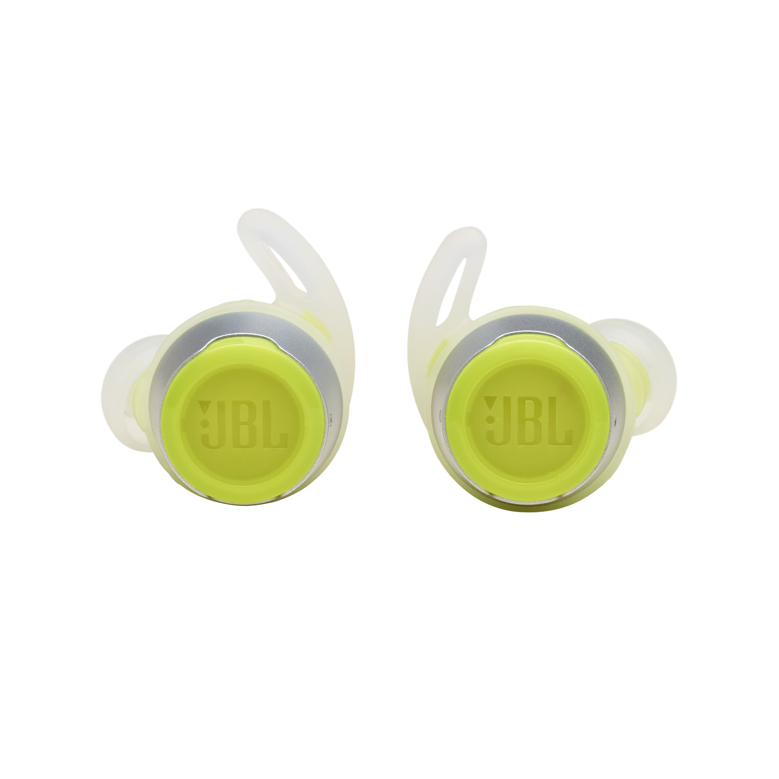 JBL REFLECT FLOW - Green - True wireless sport headphones. - Front