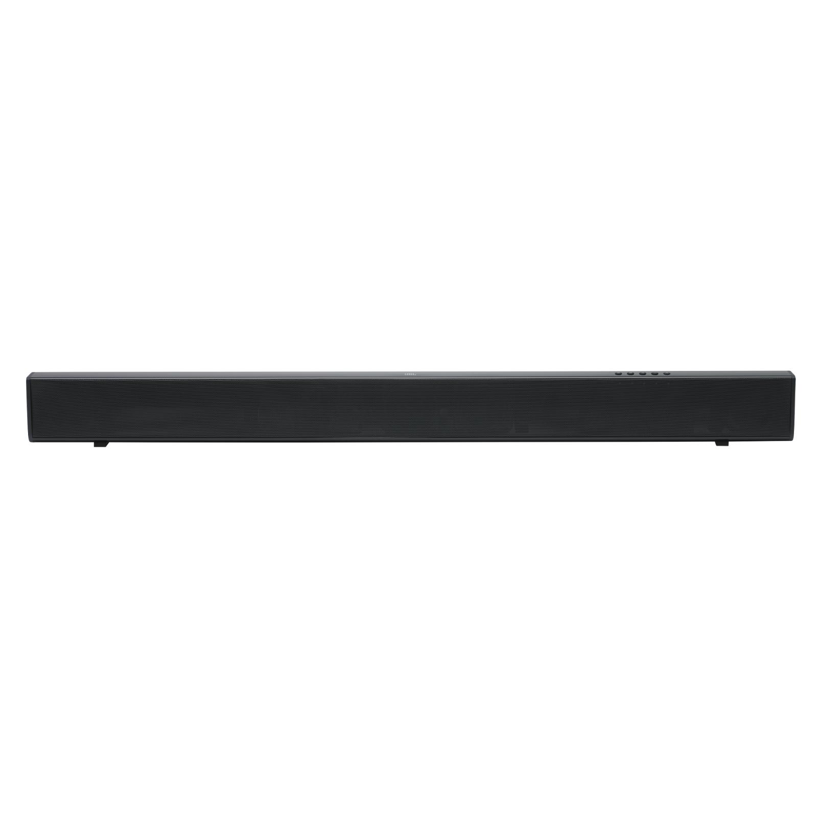 JBL Cinema SB110 - Black - 2.0 channel soundbar - Hero